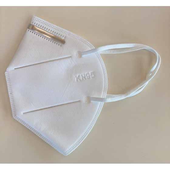 Mascherina FFP2 Validata DPI INAIL, KN95, Filtro 95%  - Confezione da 5 Mascherine (1,50€ a mascherina)